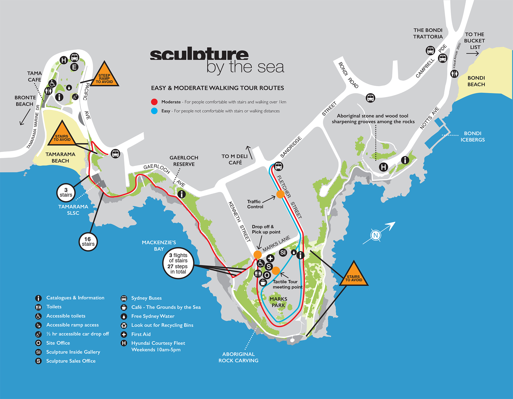 Final Catalogue Map Bondi 2015 walking tour new