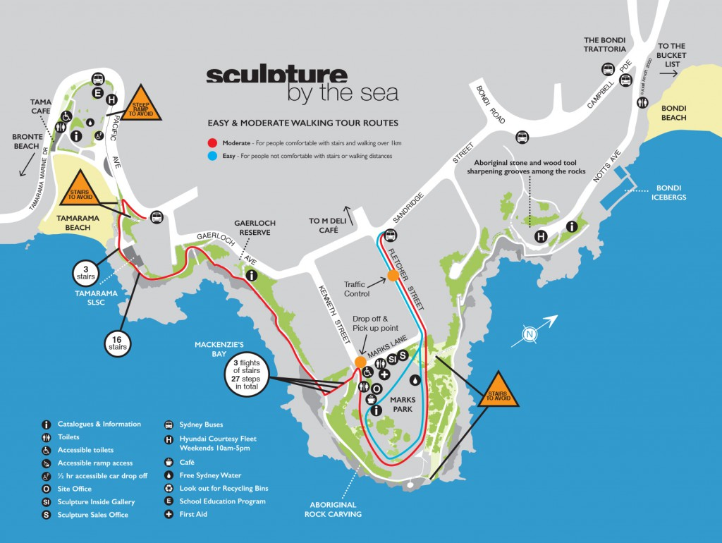 Final Catalogue Map Bondi 2017 walking tour