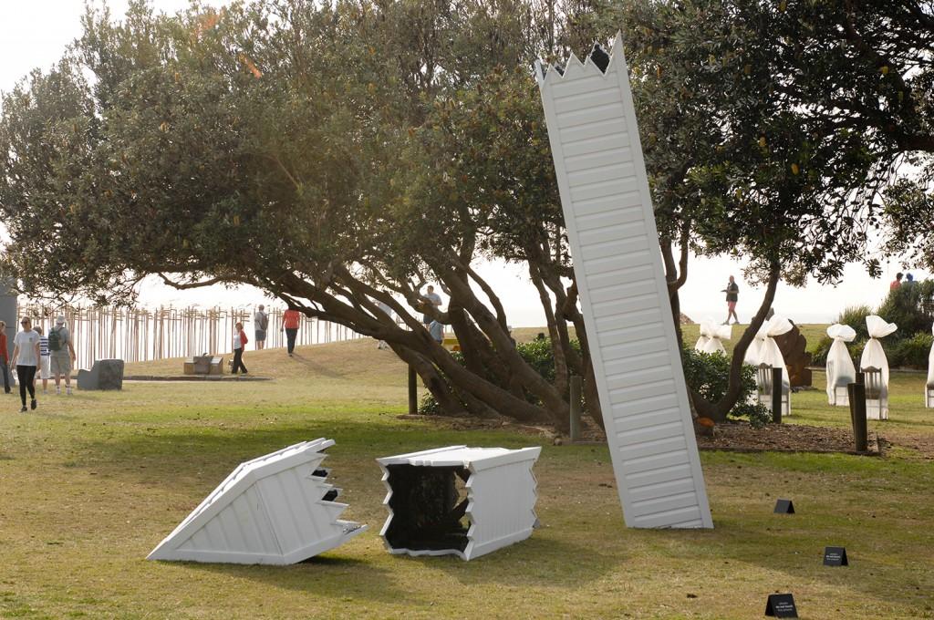 Aaron Anderson, surburban monument (ruin)