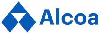 Alcoa logo horizontal blue
