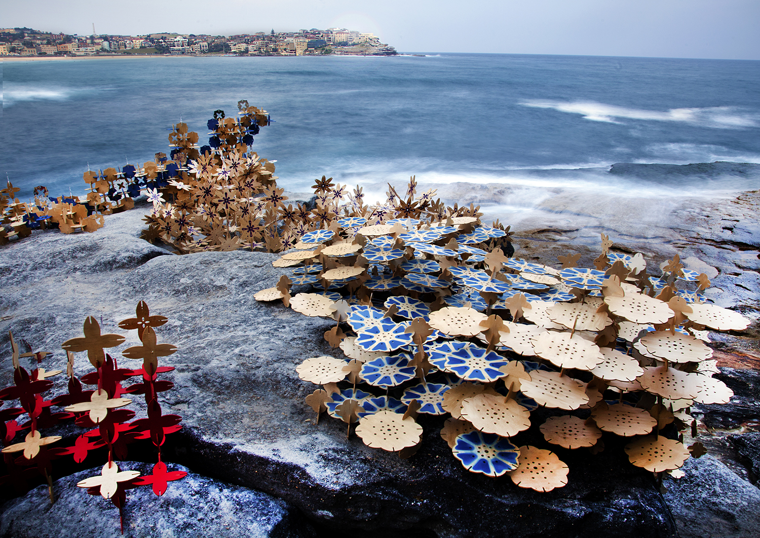 coral: - Sculpture by the Sea