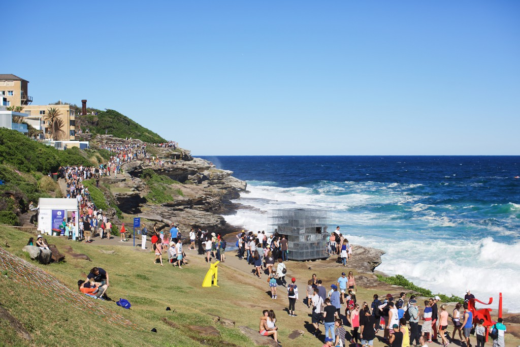Crowds at Bondi
