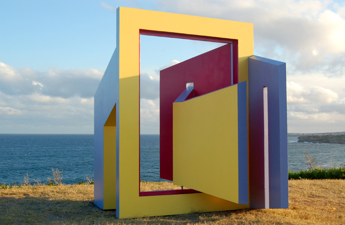 Linda Bowden, open, Sculpture by the Sea, Bondi 2006. Photo Jo Ferris.
