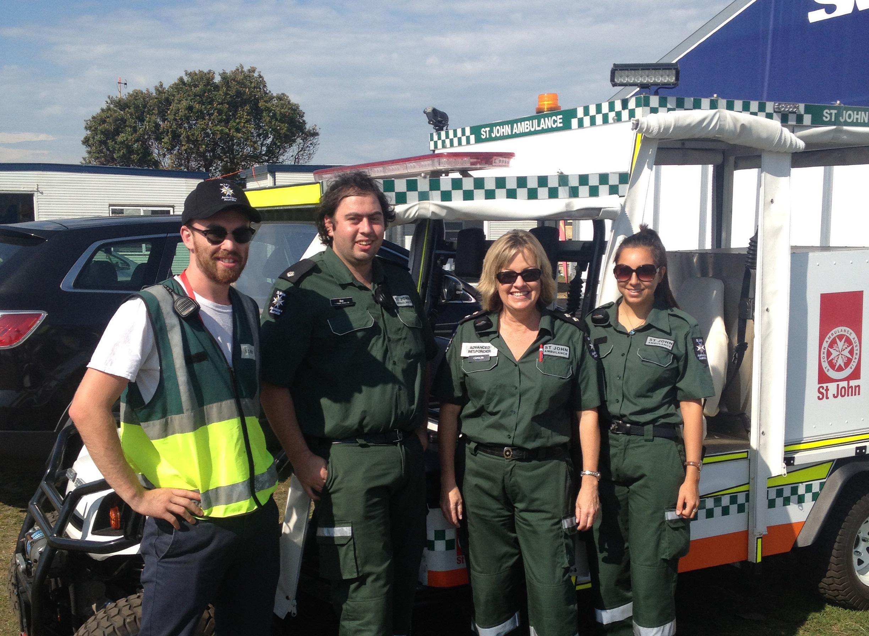 St Johns Ambulance Australia