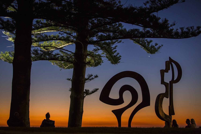 Tim Macfarlane Reid, one door opens, Sculpture by the Sea, Cottesloe 2015. Photo Jessica Wyld
