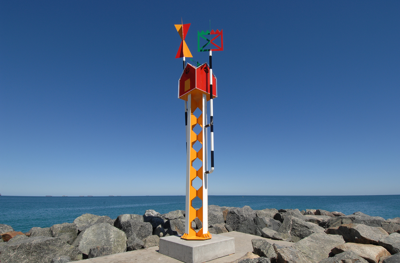 Tony Jones, lighthouse. Photo Clyde Yee