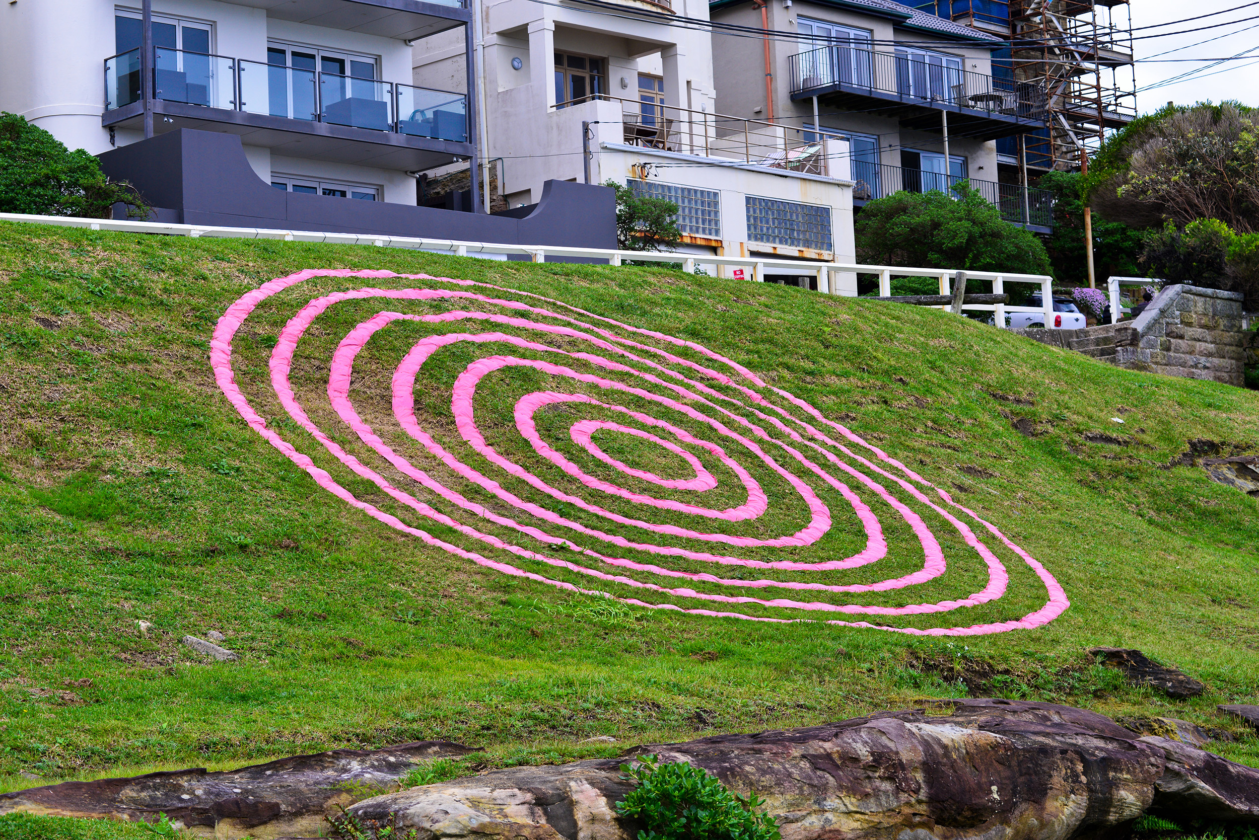 Veronica Herber, Fabrication, Sculpture by the Sea, Bondi 2015. Photo Clyde YEe