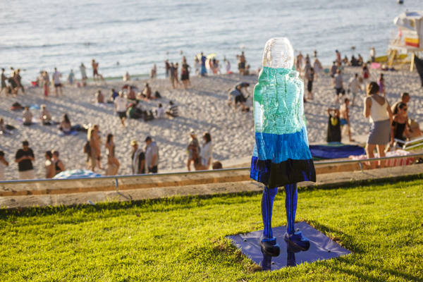Alessandra Rossi, Untitled Coral (aqua), Sculpture by the Sea, Cottesloe 2017. Photo Jessica Wyld