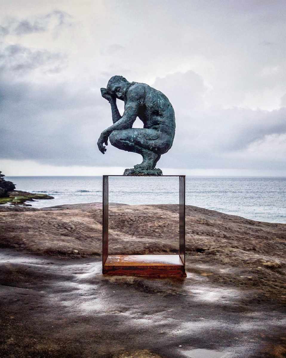 Laurence Edwards 'crouching man' by @haydenrjw