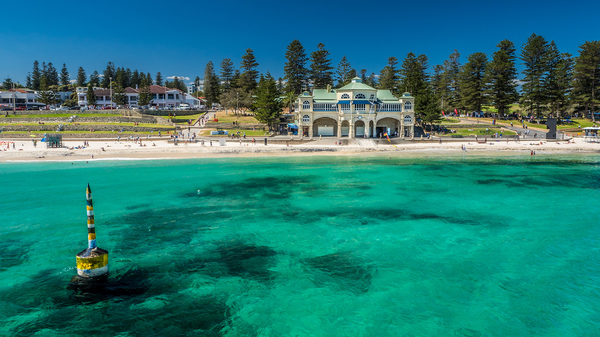 Cottesloe Beach. Photo Clip Media Motion