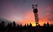 Tony Jones OAM, lighthouse, Sculpture by the Sea, Cottesloe 2012. Photo Viv Dalles