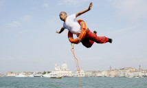 Li Wei, Flying Over Venice, Photo to be shown at Sculpture Inside, 2016. Photo supplied by the artist.