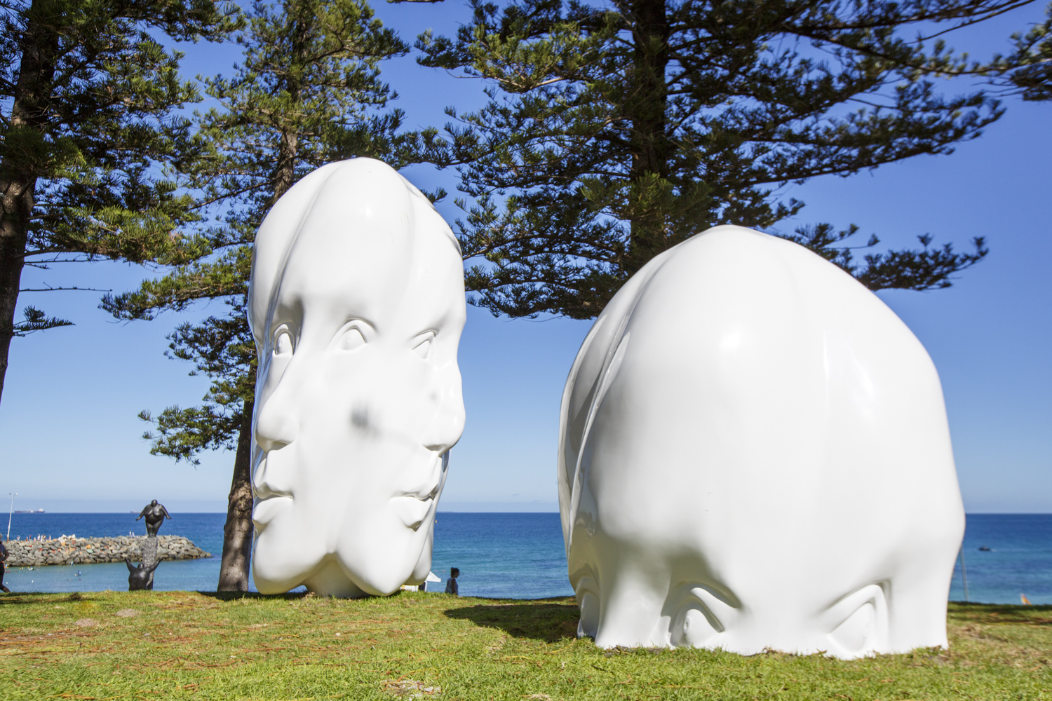 Sonia Payes, Re:Generation, Sculpture by the Sea, Cottesloe 2016. Photo Jessica Wyld.