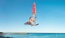 Wei, Li - Windsurfing over Cottesloe