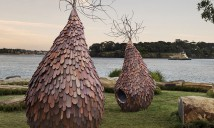 Margarita Sampson The Grove. Photographer:  M Schofield. Artistic interpretation at Barangaroo Reserve.