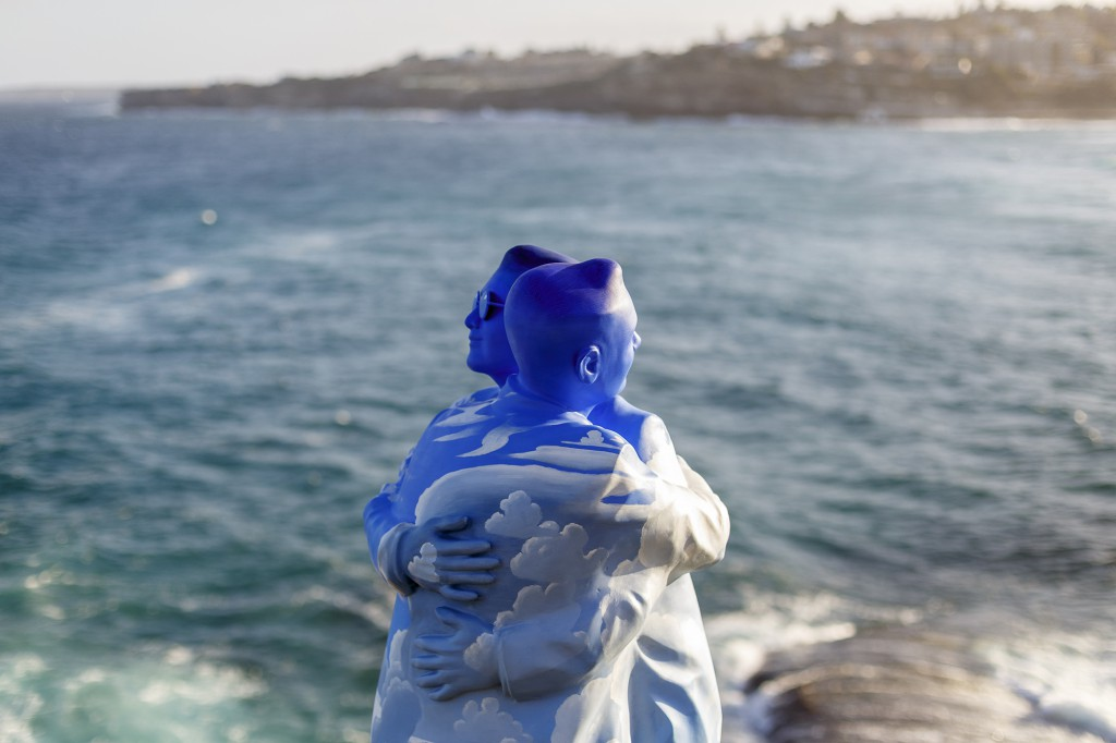 Stephen Marr, Under One Sky, Sculpture by the Sea, Bondi 2017. Photo Jessica Wyld