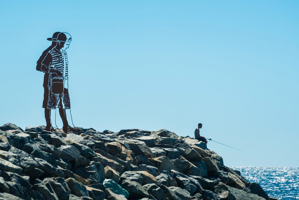 Zadok Ben-David, Big Boy (2016), Sculpture by the Sea, Cottesloe 2017. Photo - Richard Watson new