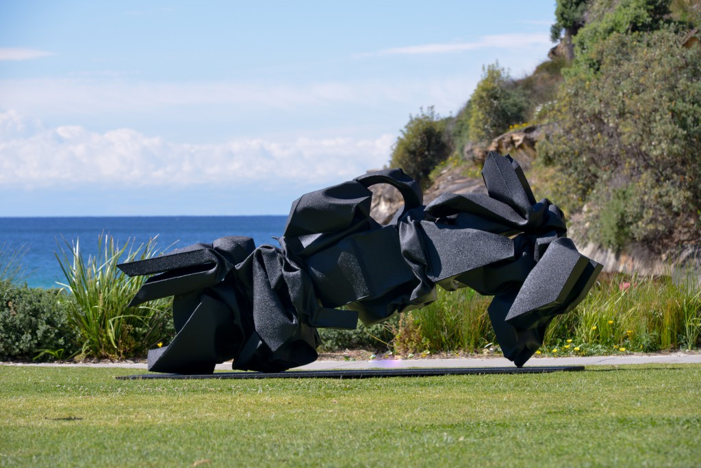 Lubomir Mikle, I.H.W.M.A. (2014), Sculpture by the Sea, Bondi 2016. Photo Clyde Yee