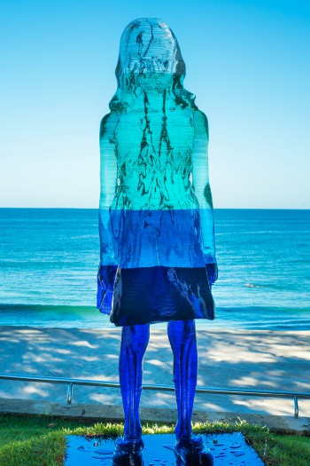 Alessandra Rossi, Intitled Coral (aqua), Sculpture by the Sea, Cottesloe 2017. Photo - Richard Watson