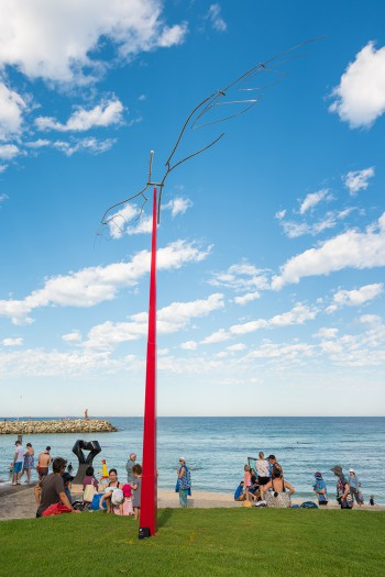 Kozo Nishino, Swing in the Air, Sculpture by the Sea, Cottesloe 2017. Photo - Richard Watson2