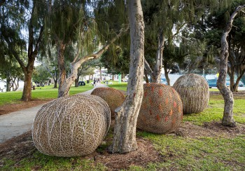 Sally Stoneman_Tumbleweed_Sculpture by the Sea_Cottesloe 2017_Photo Jessica Wyld 001
