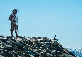 Zadok Ben-David, Big Boy (2016), Sculpture by the Sea, Cottesloe 2017. Photo - Richard Watson - 3