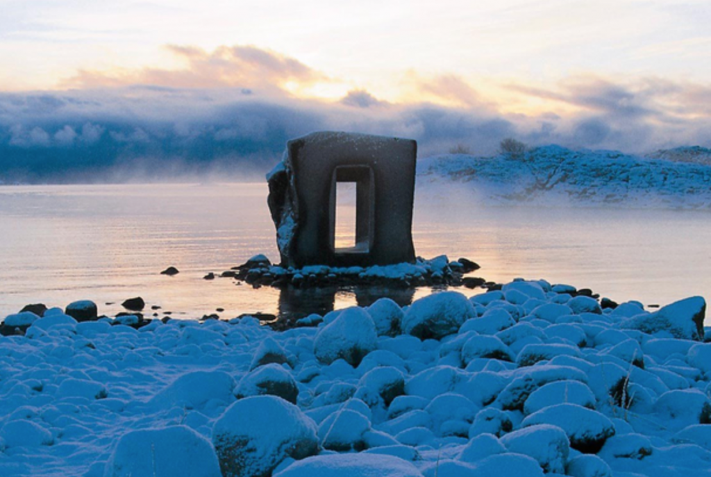 Image credit- Anish Kapoor, The Eye in Stone, 1998 - Lødingen Municipality. Photo Trym Ivar Bergsmo