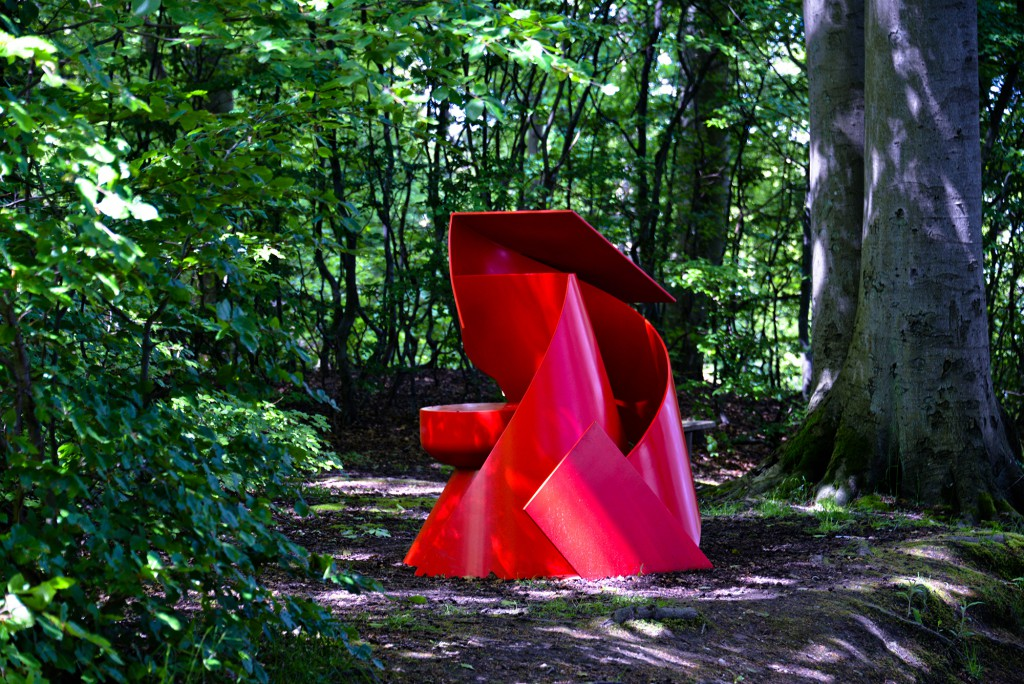 Ron Robertson-Swann, Inner Sanctum, Sculpture by the Sea, Aarhus 2015. Photo Clyde Yee