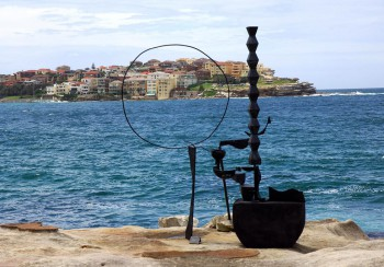 Orest Keywan, Constanta Dreaming, Sculpture by the Sea Bondi 20105. Photo Clyde Yee