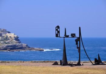 Orest Keywan, Provincia Deserta, Sculpture by the Sea, Bondi 2013. Photo Clyde Yee.