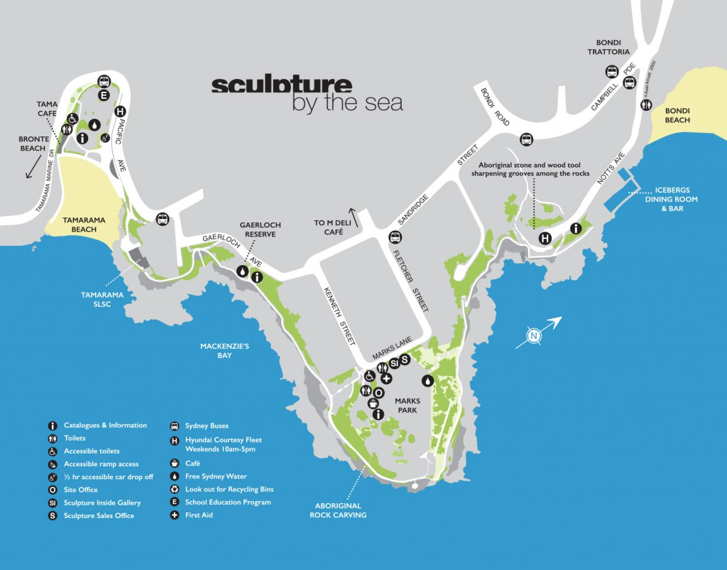 Site Map Bondi 2017 no site numbers